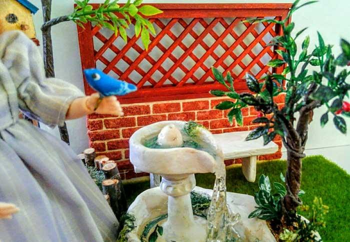 画像4: 小鳥とファウンテン