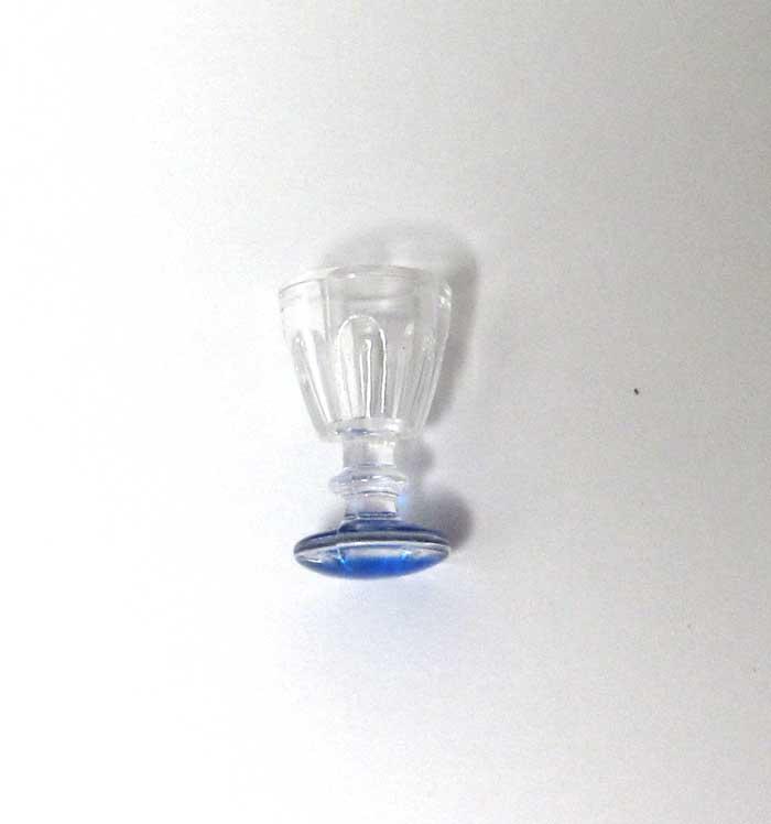 画像2: ブルー底グラス