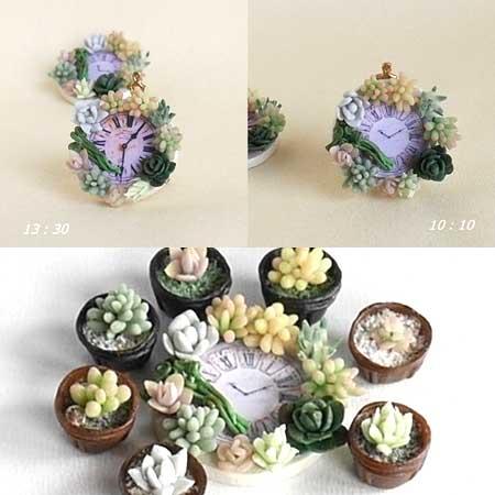 画像2: 10:10 サキュレント&山菜飾りボード