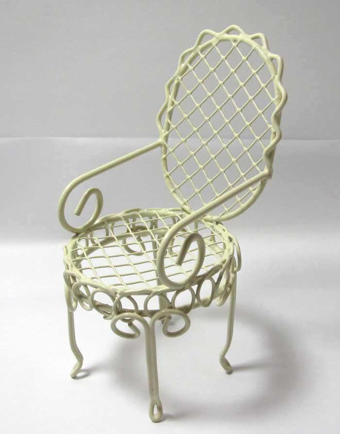 画像1: 椅子・アイボリー