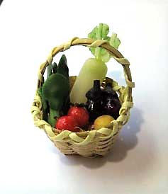 画像1: 野菜かご・A