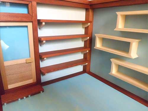 画像3: お店屋さんの棚(棚と椅子付き)