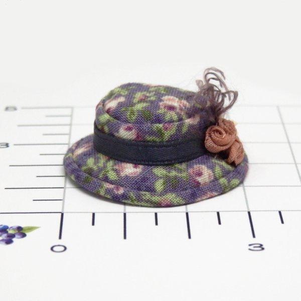 画像2: キャノチエ 紫花柄