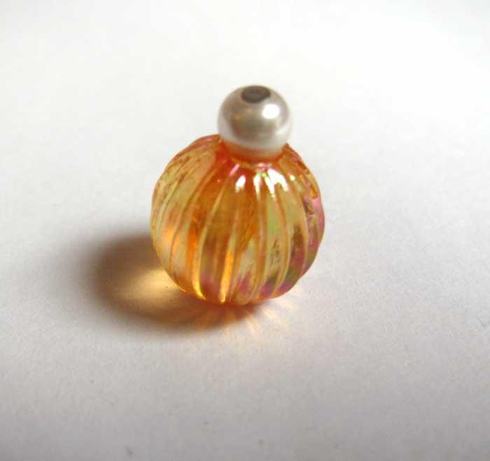 画像1: 化粧瓶丸・ オレンジ
