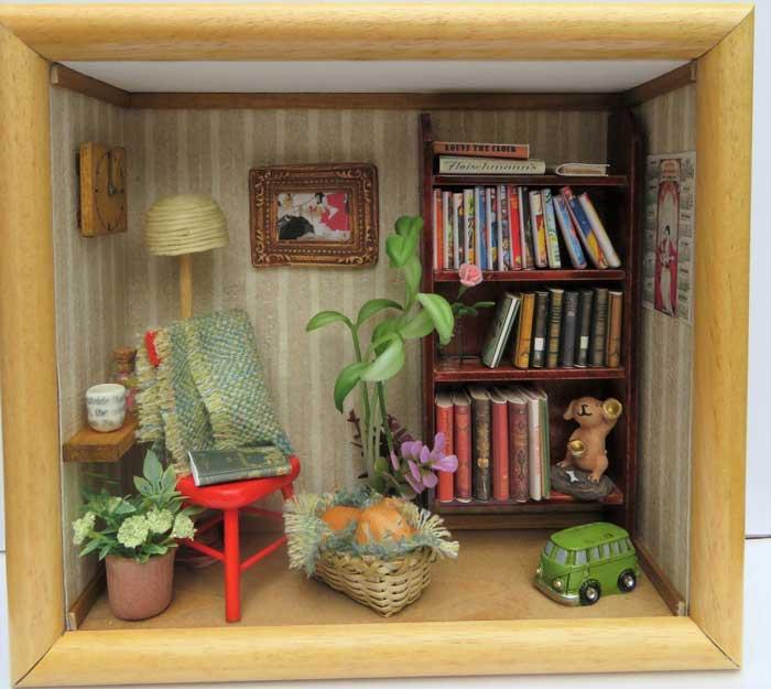画像1: フレーム・読書室