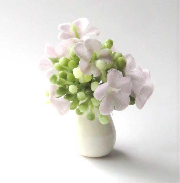 画像1: アジサイ(花瓶入り)