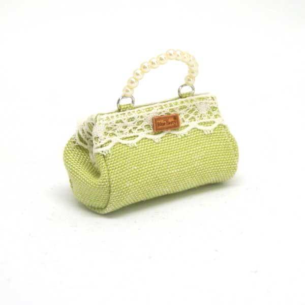 画像1: バッグ 黄緑