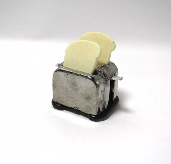 画像2: トースターとパン