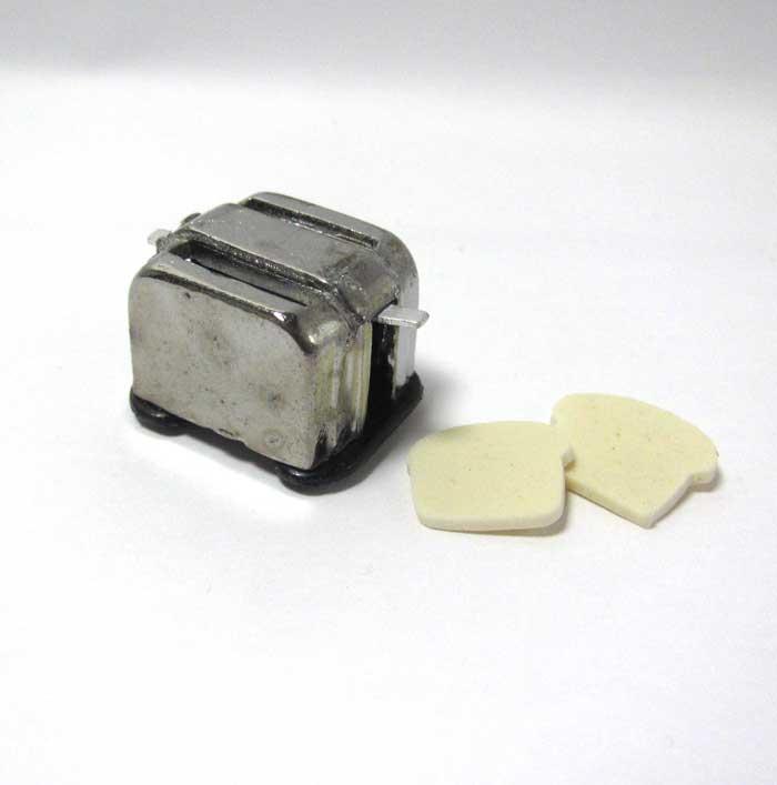 画像3: トースターとパン