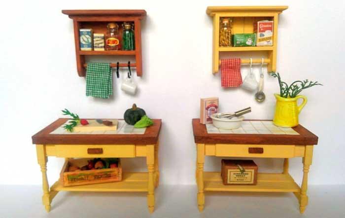 画像2: 調理台とシェルフ