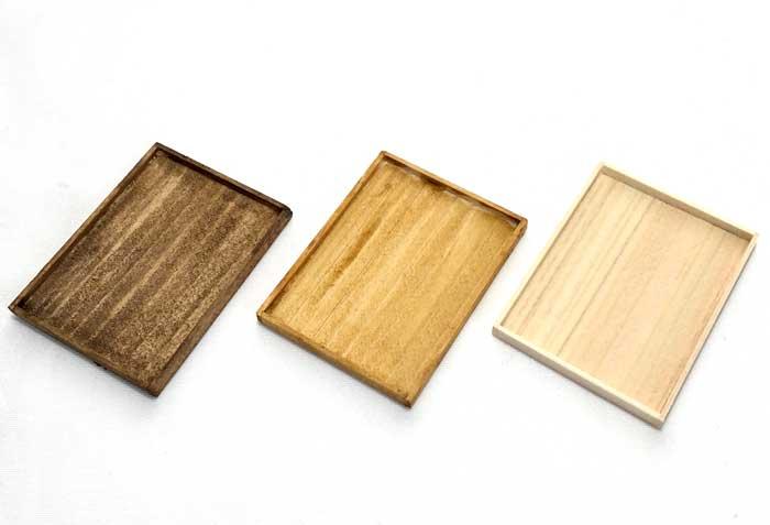 画像1: 木製トレー (大) 1枚