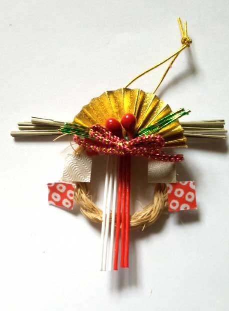 画像1: しめ縄飾り
