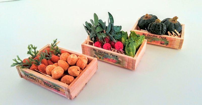 画像1: マルシェの野菜 Aセット