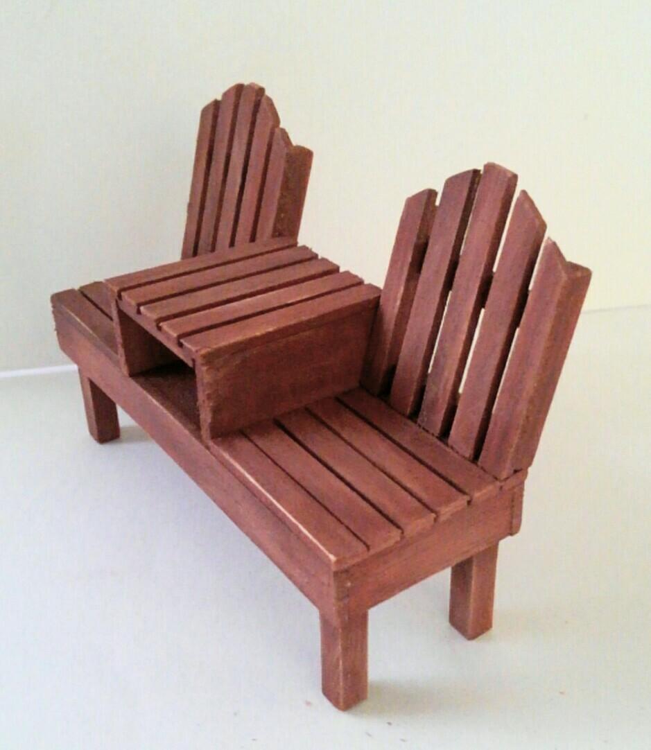 画像2: 2人掛けベンチ