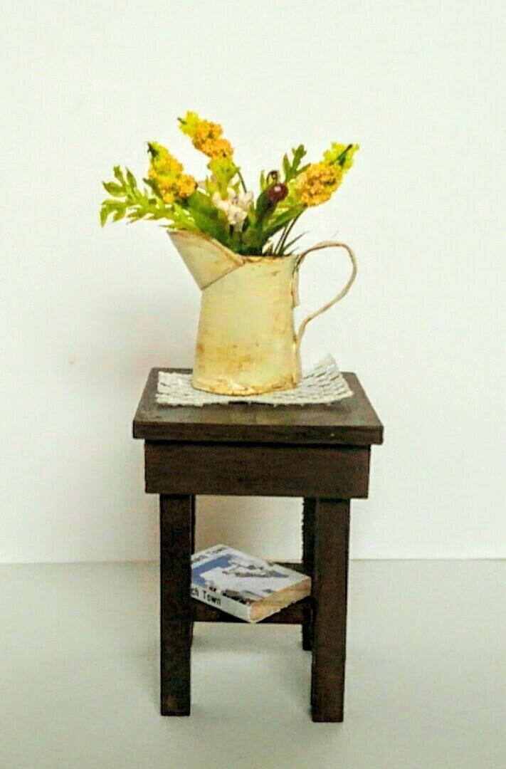 画像3: ジャグに活けた野の花(黄色)