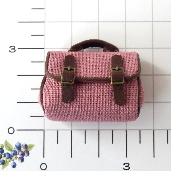 画像2: サッチェルバッグ ピンク