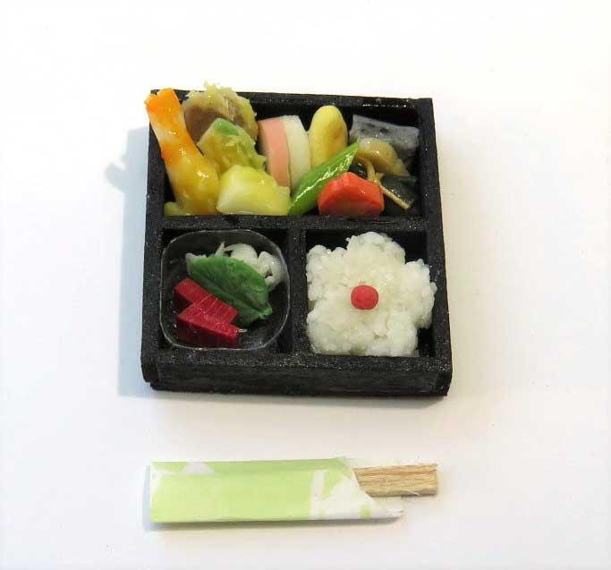 画像1: 松花堂弁当・黒