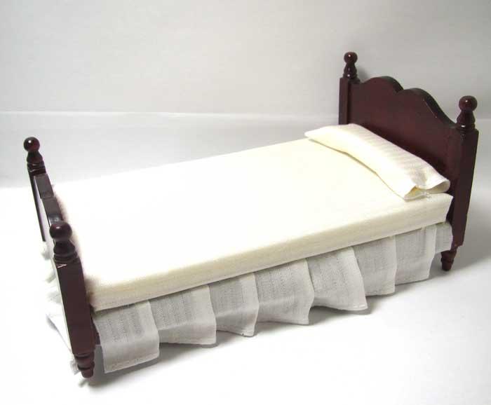 画像2: シングルベッド・ウォールナット