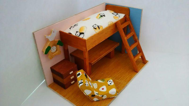 画像1: ロフトのある子供部屋(特価)