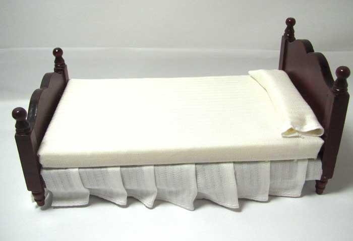 画像1: シングルベッド・ウォールナット