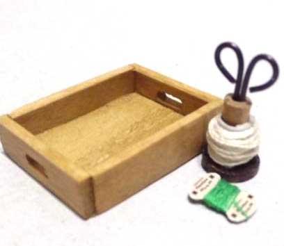 画像1: ストリングタイディセット・緑糸(特価)