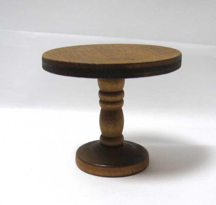 画像1: ラウンドテーブル・ウォールナット