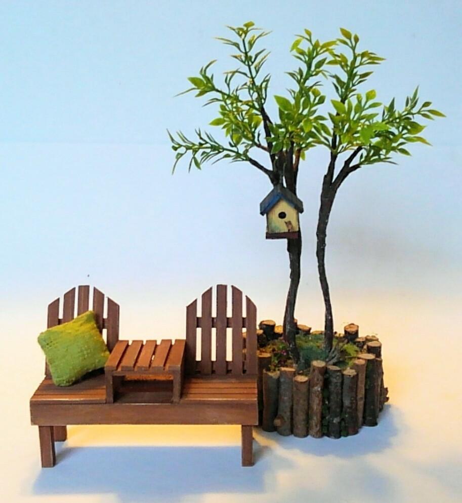 画像3: 2人掛けベンチ