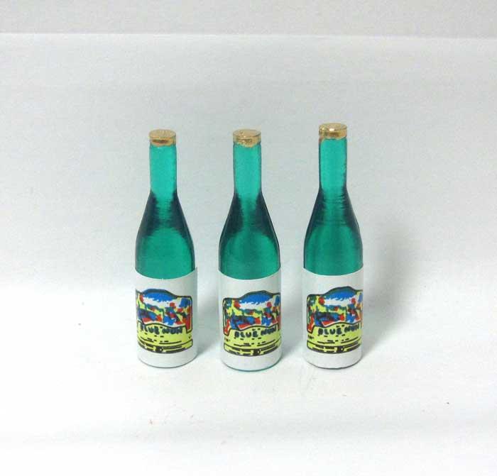 画像1: ワイン3本・ライトグリーン
