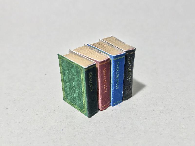 画像3: レザープリント表紙ミニチュアブック