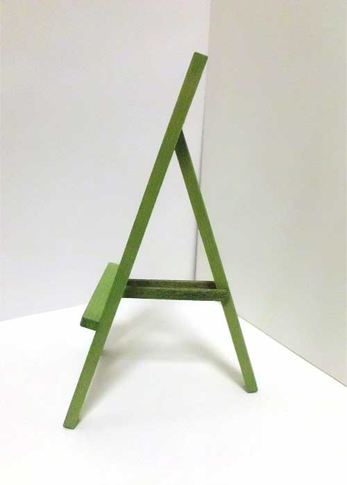 画像3: 木製イーゼル・グリーン