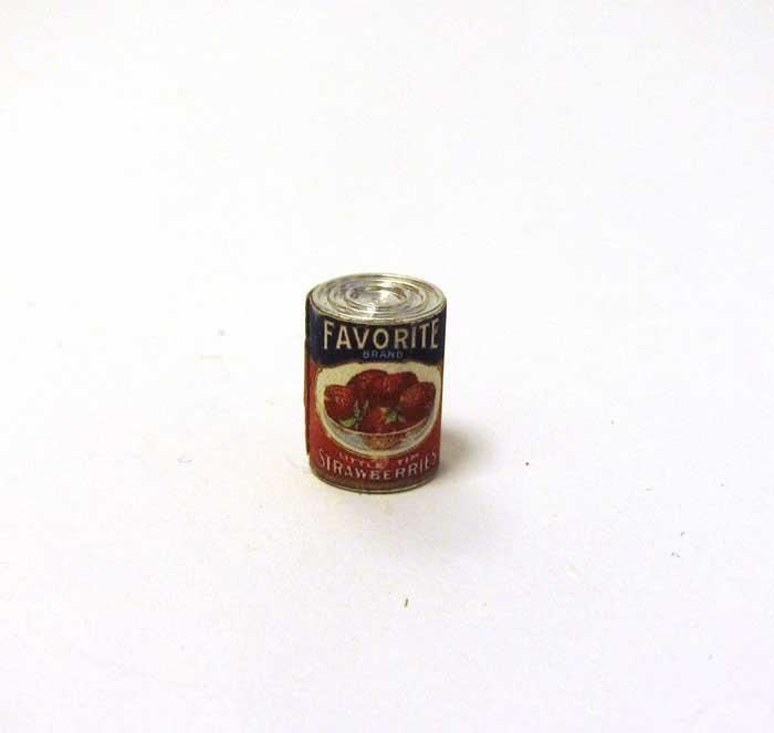 画像2: イチゴブリザーブの缶詰