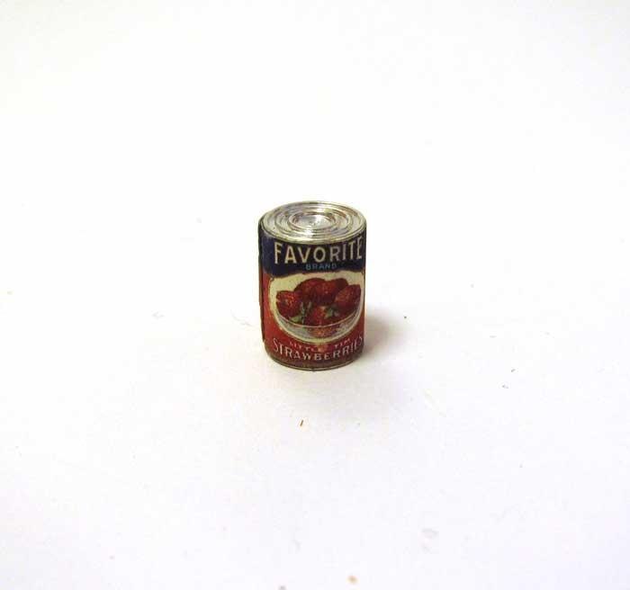 画像1: イチゴブリザーブの缶詰