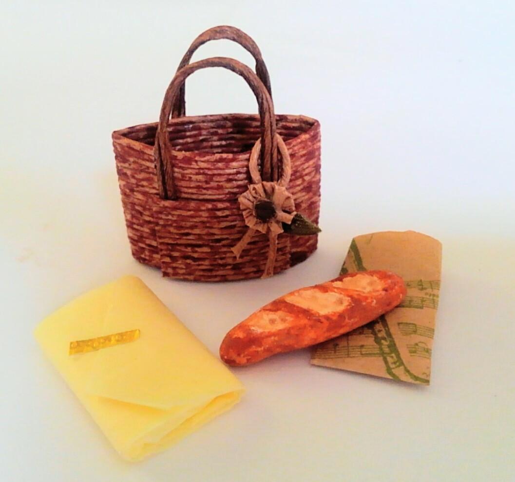 画像2: お買い物籠バッグ