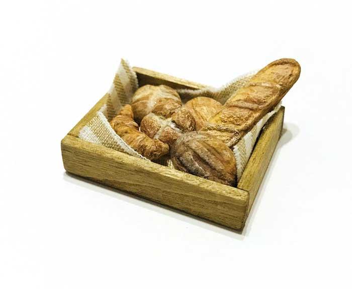 画像2: ブレッドセット(木箱入り)