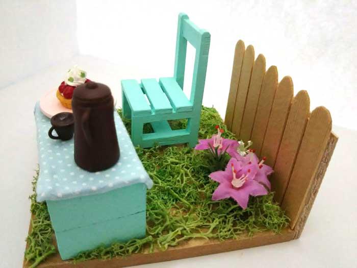 画像2: 春の庭でティータイム(特価)