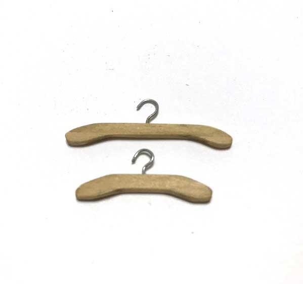 画像1: アンティークハンガー(大小セット)