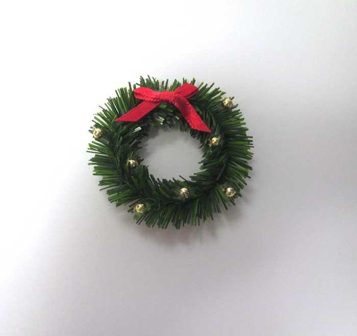画像1: クリスマスリース・ゴールドボール