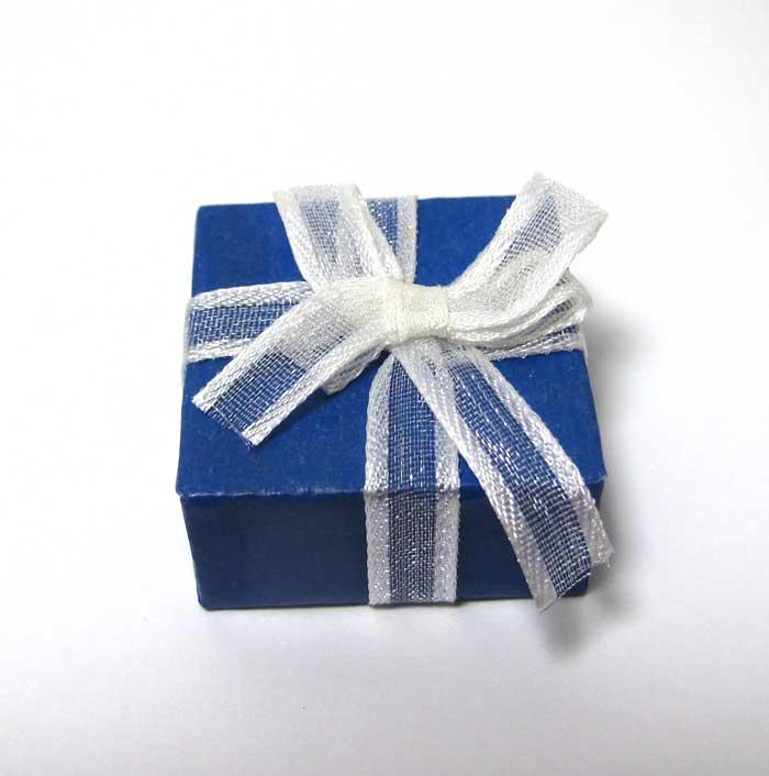 画像2: プレゼントボックス(ブルー)