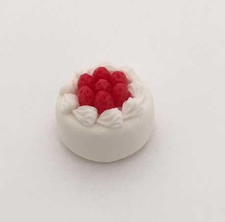 画像1: イチゴのホールケーキ