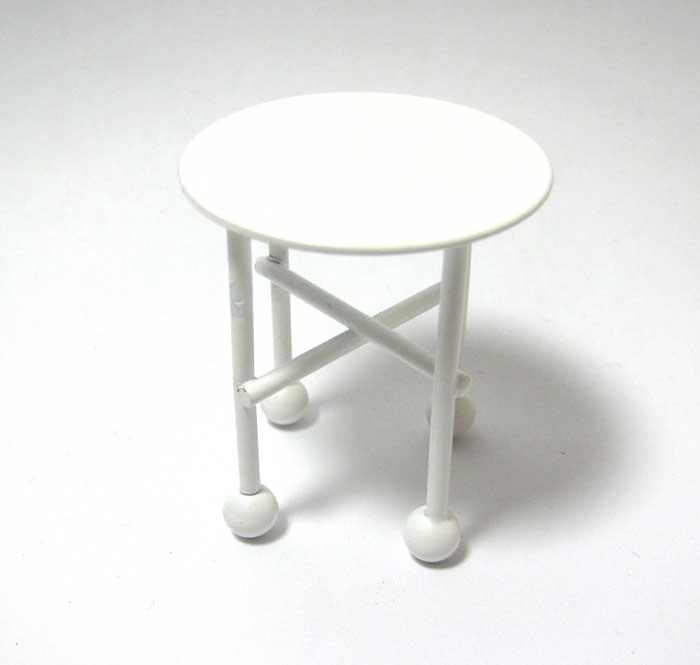 画像2: 白いミニテーブル