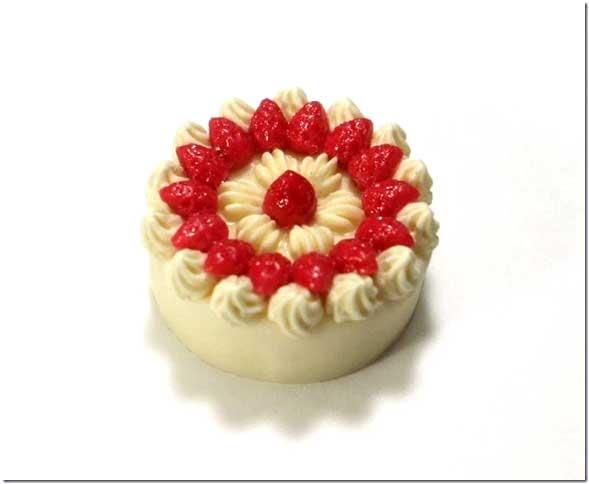画像1: 苺のデコレーションケーキ