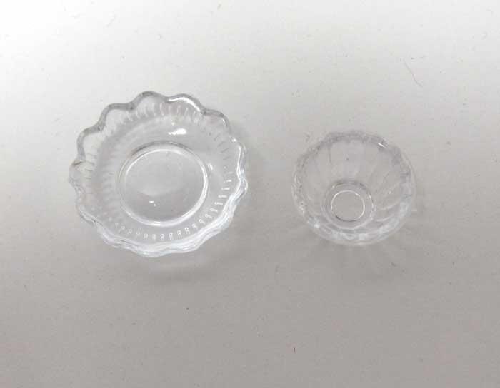 画像2: サラダボウル2個セットクリア