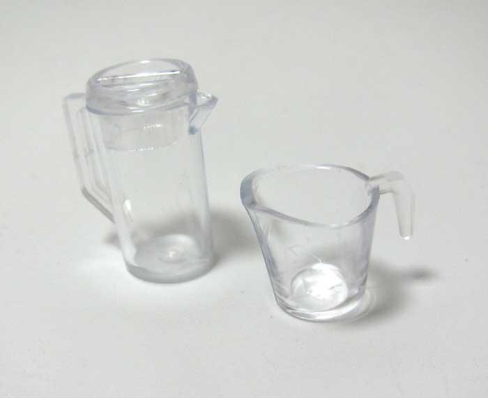 画像2: ピッチャーとカップセット・クリア