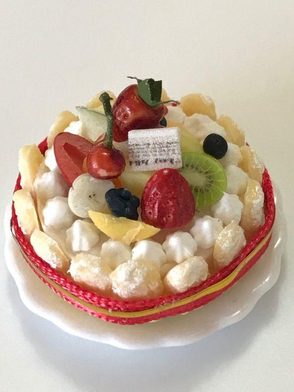 画像1: 豪華フルーツシャルロットケーキ