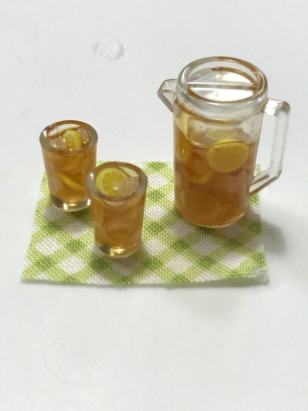 画像1: アイスレモンティーセット