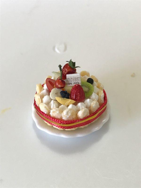 画像2: 豪華フルーツシャルロットケーキ
