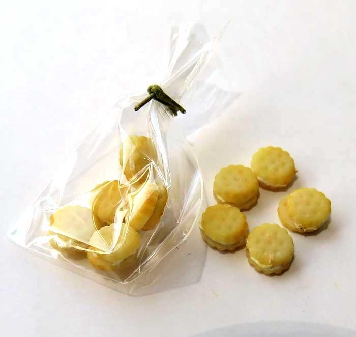 画像1: クリームサンドクッキー・袋入り