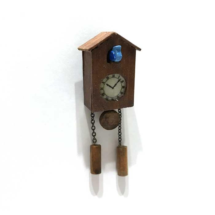 画像1: 小鳥時計