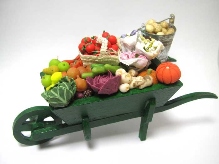 画像1: 野菜カート大