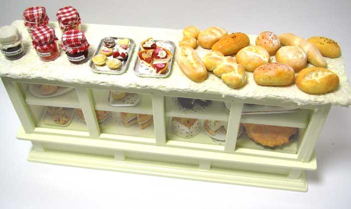画像3: ケーキ&パン棚入り